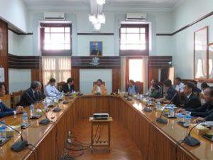 ヤンゴン市長を表敬訪問
