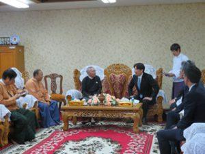 地域議会議長を表敬訪問