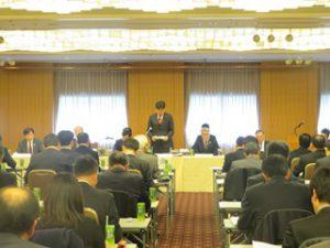 第109回都市行政問題研究会総会の様子